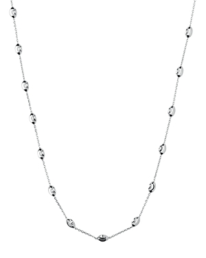 Links Of London LINKS OF LONDON STERLING SILVER ESSENTIAL BEADED NECKLACE, 17.7