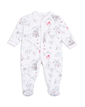 Livly - Girls' Bunny Princess Land Print Footie - Baby