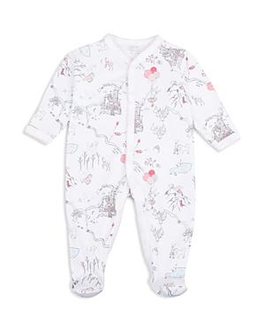 Livly Girls' Bunny Princess Land Print Footie - Baby