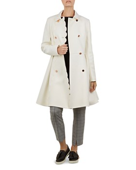 Ted Baker - Blarnch Scallop-Edge Coat