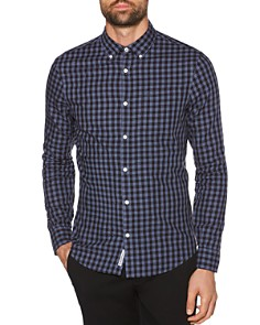 Original Penguin - Gingham-Print Regular Fit Button-Down Shirt