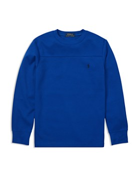 Ralph Lauren - Boys' Waffle-Knit Shirt - Big Kid