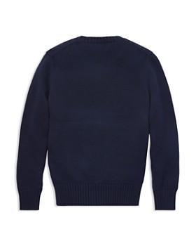Ralph Lauren - Boys' Après Ski Polo Bear Intarsia Sweater - Big Kid
