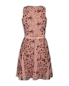BCBGirls - Girls' Georgette Floral Chiffon Dress - Big Kid