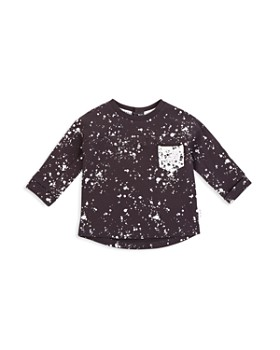 Miles Baby - Unisex French Terry Paint Splatter Shirt - Baby