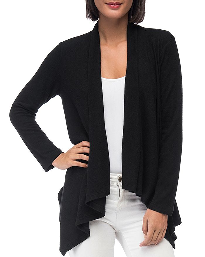 65be4c0465e8bc B Collection by Bobeau Amie Waterfall Cardigan | Bloomingdale's