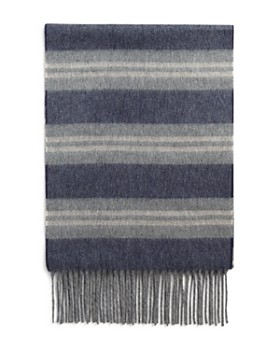 The Men's Store at Bloomingdale's - Striped Cashmere Scarf - 100% Exclusive