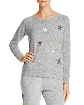 4eddcf95cb6 Theo   Spence - Star Print Raglan Sweatshirt ...