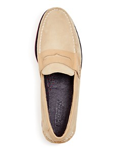 Sperry - Men's Authentic Original Nautical Suede Penny Loafers