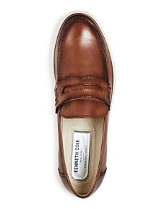 Kenneth Cole - Men's Kip Leather Penny Loafers