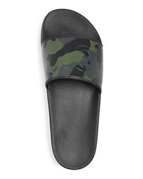 BOSS Hugo Boss - Men's Timeout Camo Print Slide Sandals
