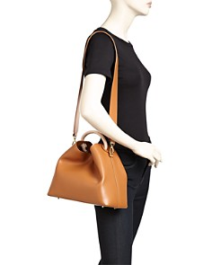 Elleme - Raisin Leather Shoulder Bag