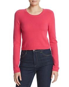Alice and Olivia - Ciara Cropped Cashmere Sweater
