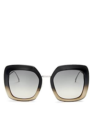 Fendi Women\\\'s Oversized Square Sunglasses, 53mm-Jewelry & Accessories