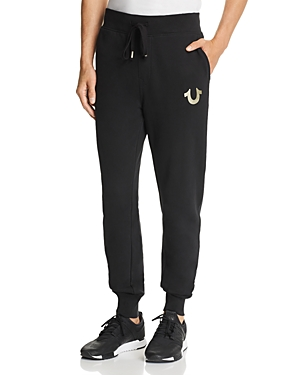 True Religion Cottons PUFF-PRINT SWEATPANTS