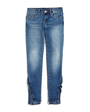 Blanknyc Girls' Glitter-Striped Skinny Jeans - Big Kid
