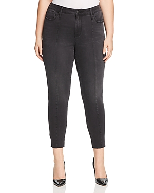 Seven7 Jeans Plus Seamed Skinny Ankle Jeans in Morpheus Wash