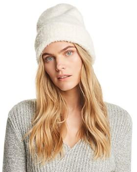 AQUA - Fuzzy Knit Hat - 100% Exclusive