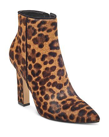 Marc Fisher LTD. - Women's Mayae Calf Hair High-Heel Booties - 100% Exclusive