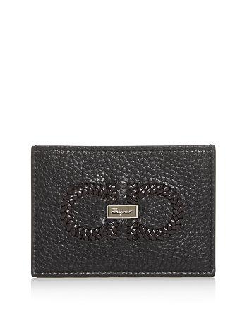 Salvatore Ferragamo - Firenze Leather Card Case