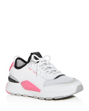Women'S Evolution Rs-0 Sound Casual Shoes, White, White/Knockout Pink