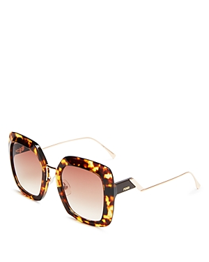 Fendi Women's Oversized Square Sunglasses, 53mm