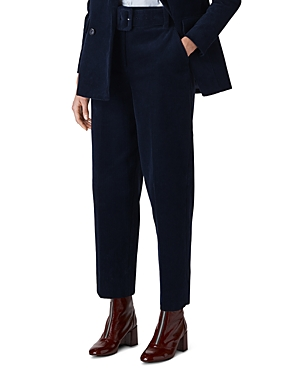 Whistles Belted Corduroy Pants