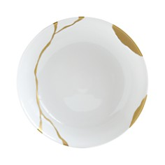 Bernardaud - Kintsugi-Sarkis 24K Gold Open Vegetable Dish