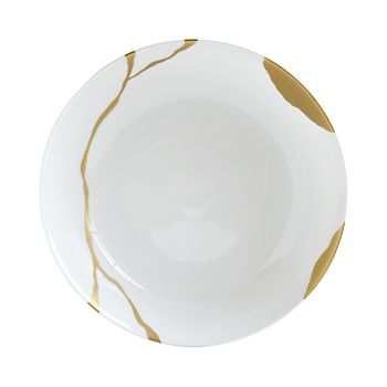 Bernardaud - Kintsugi-Sarkis 24K Gold Open Vegetable Dish
