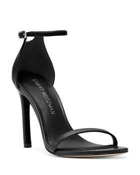 348290a02bc Stuart Weitzman - Women s Nudistsong Patent Leather High-Heel Sandals ...
