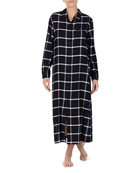 Donna Karan - Plaid Long Sleepshirt