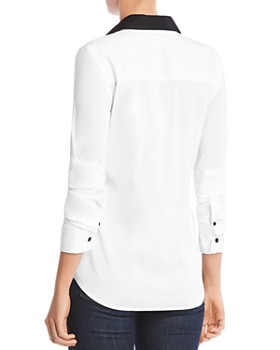 Bailey 44 - Keaton Contrast-Collar Shirt