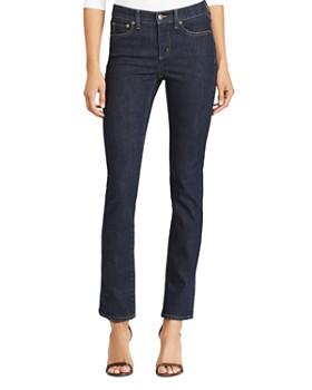 Ralph Lauren - Premier Straight-Leg Jeans in Rinse Wash