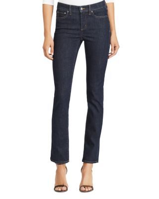 Premier Straight Leg Jeans In Rinse Wash by Lauren Ralph Lauren