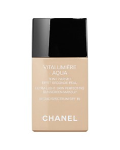 CHANEL VITALUMIÈRE AQUA Ultra-Light Skin Perfecting Sunscreen Makeup SPF 15 - Bloomingdale's_0