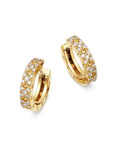 Roberto Coin - 18K Yellow Gold Symphony Pois Moi Diamond Earrings