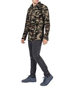 Barney Cools - Heritage Camouflage-Print Corduroy Regular Fit Shirt