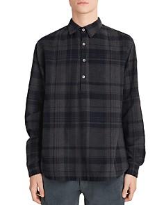Barena - Pavan Plaid Regular Fit Popover Shirt