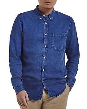 NN07 - Falk 5767 Denim Regular Fit Button-Down Shirt