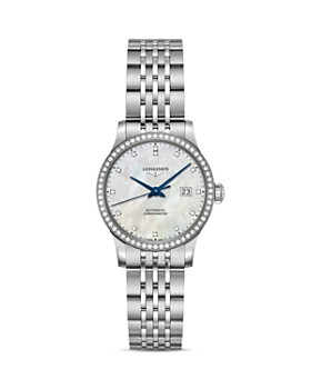 Longines - Record Mother-of-Pearl Dial Watch, 30mm