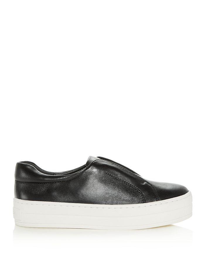 b03271e287bf3 J/Slides Women's Heidi Leather Slip-On Platform Sneakers ...
