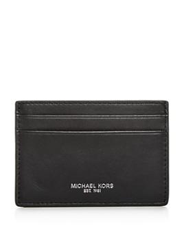 Michael Kors - Henry Leather Money Clip Card Case