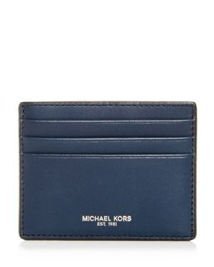 Michael Kors Henry Leather Card Case