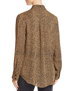 Current/Elliott - The Derby Leopard Print Shirt