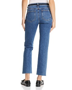 PAIGE - Vintage Colette Cropped Flare Jeans in Hutton Tassel
