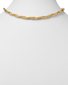 """Bloomingdale's - Twisted Curb Chain Necklace in 14K Yellow Gold, 17.75"""" - 100% Exclusive"""