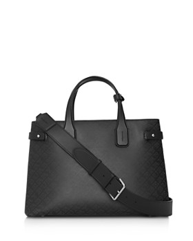 Burberry - The Medium Banner Perforated Leather Tote