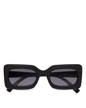 Le Specs - Damn! Rectangular Sunglasses, 50mm