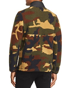 Herschel Supply Co. - Camouflage-Print Mixed-Media Sherpa Jacket