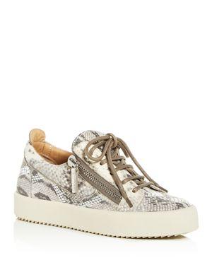 Giuseppe Zanotti Women's May London Lace-Up Platform Sneakers
